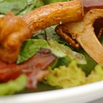 Альпийский грибной салат