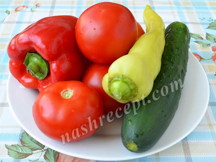 овощи для гаспачо - ovoschi dlya gaspacho