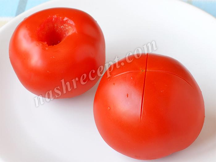 как очистить помидоры от кожицы - kak ochistit pomidory ot kozhitsy
