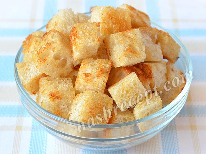 обжаренный хлеб для гаспачо - obzharennyi hleb dlya gaspacho