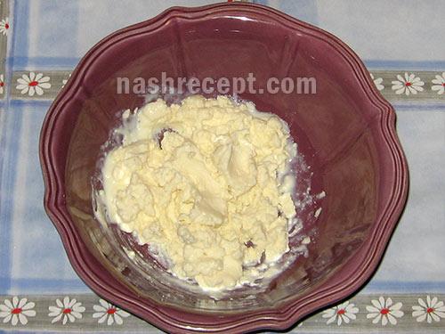 брынза с молоком для брынзовых галушек - brynza s molokom dlya brynzovyh galushek