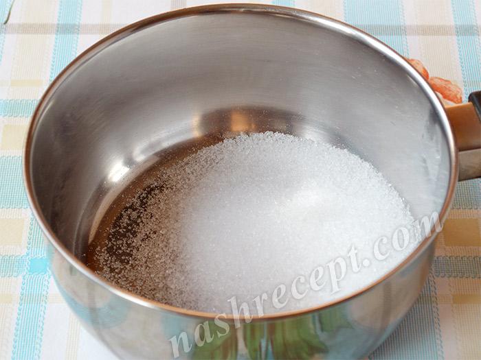 сахар для кофейной глазури - sahar dlya kofeynoy glazuri
