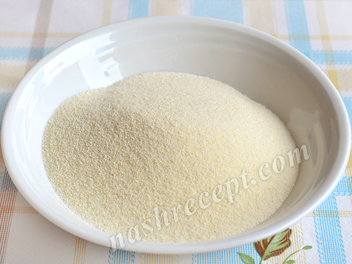 манная крупа для каши - mannaya krupa dlya kashi