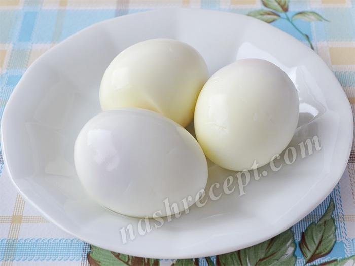 вареные яйца для паштета - varenye yaytsa dlya pashteta