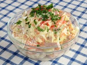 салат из кольраби - salat iz kolrabi
