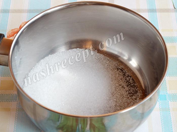 сахар для шоколадной глазури - sahar dlya shokoladnoy glazuri