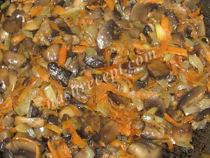 грибы с овощами для тушеной картошки - griby s ovoschami dlya tushenoy kartoshki