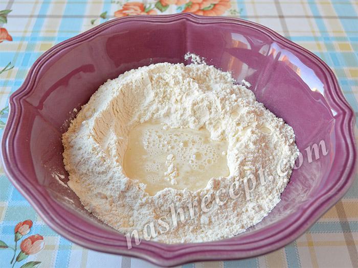 как приготовить тесто для вареников с капустой