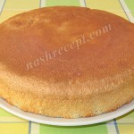 Бисквитный торт. Классический рецепт