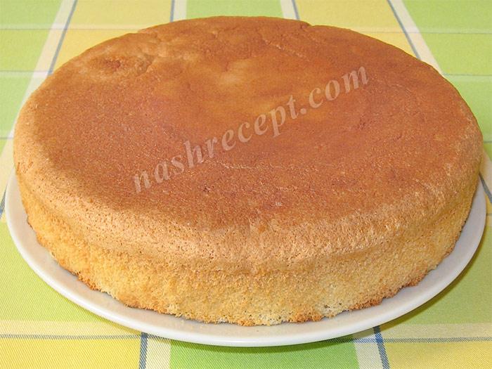 бисквитный торт - biskvitnyi tort