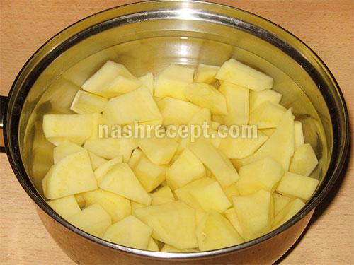rezhem kartofel - режем картофель
