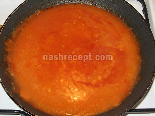 томатная заправка для капустняка - tomatnaya zapravka dlia kapustniaka