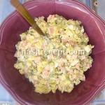 салат оливье - salat olivye