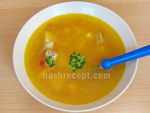 гороховый суп - gorohovyi sup