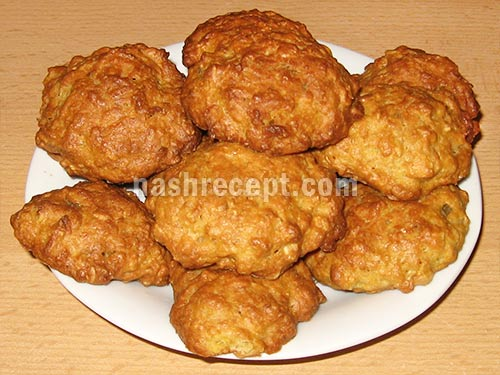 готовое овсяное печенье с тыквой - gotovoe ovsianoe pechenie s tykvoy