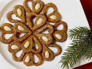 печенье сердечки с изюмом - pechenie serdechki s iziumom