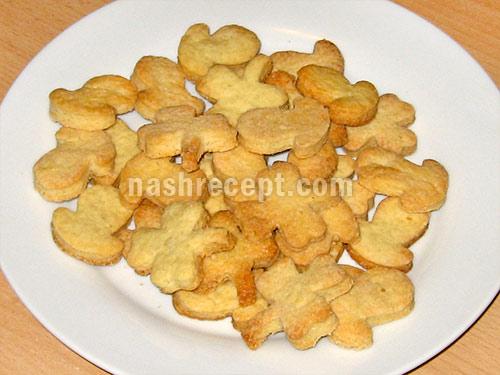 домашнее песочное печенье - domashnee pesochnoe pechenie