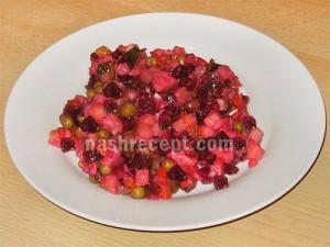 салат винегрет - salat vinegret