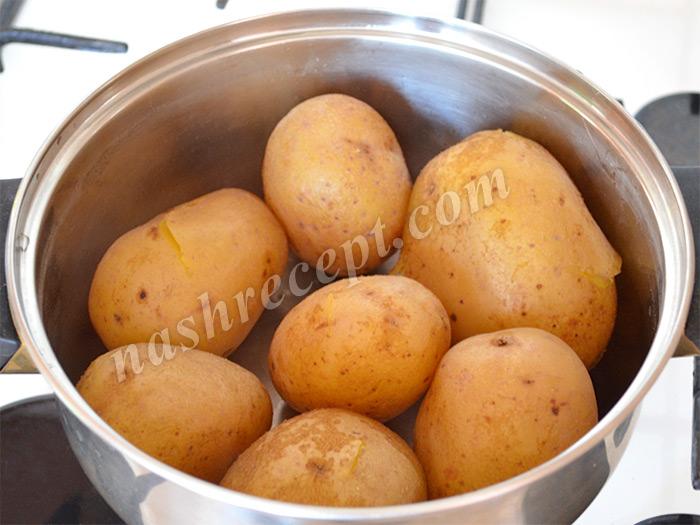 картофель в мундирах - kartofel v mundirah