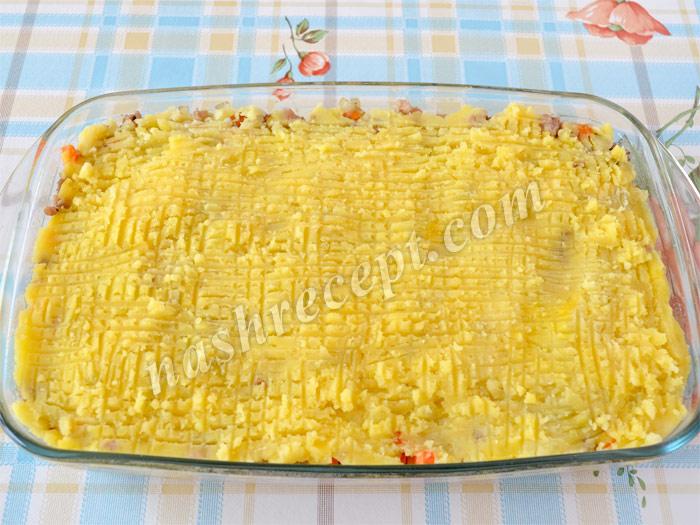 3 слой запеканки: картофель - 3 sloy zapekanki: kartofel