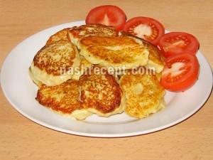 картофельные оладьи из пюре - kartofelnye oladii iz pyure