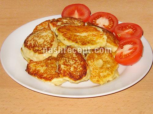 картофельные оладьи - kartofelnye oladii