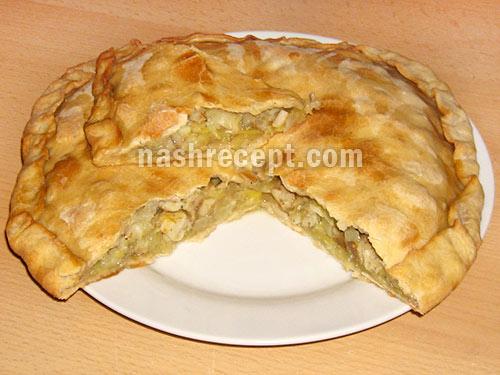 пирог с рыбой архангельский - pirog s ryboy arhangelskiy