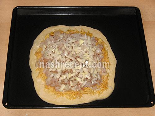 начинка для пирога с рыбой 3 слой - nachinka dlia piroga s ryboy 3 sloy