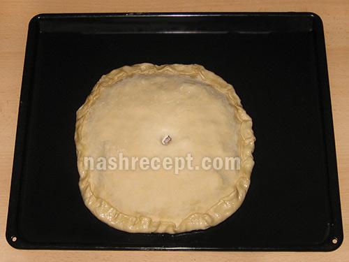 пирог рыбный до выпекания - pirog rybnyi do vypekaniya
