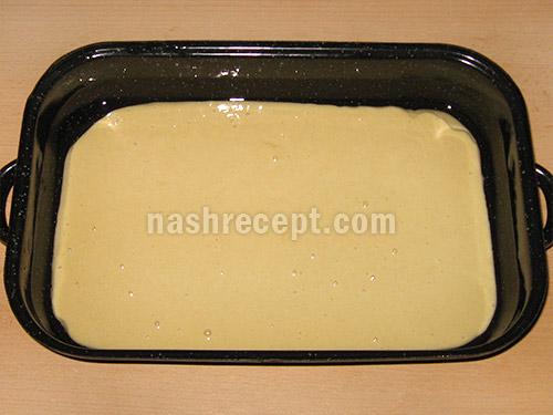 разводим тесто молоком - razvodim testo molokom