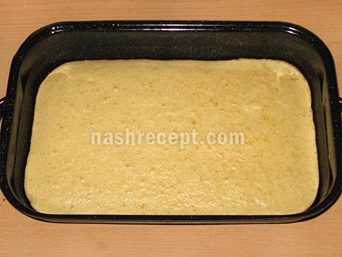 корж для пирога с грушами - korzh dlia piroga s grushami