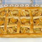 открытый пирог с фруктами - otkrytyi pirog s fruktami