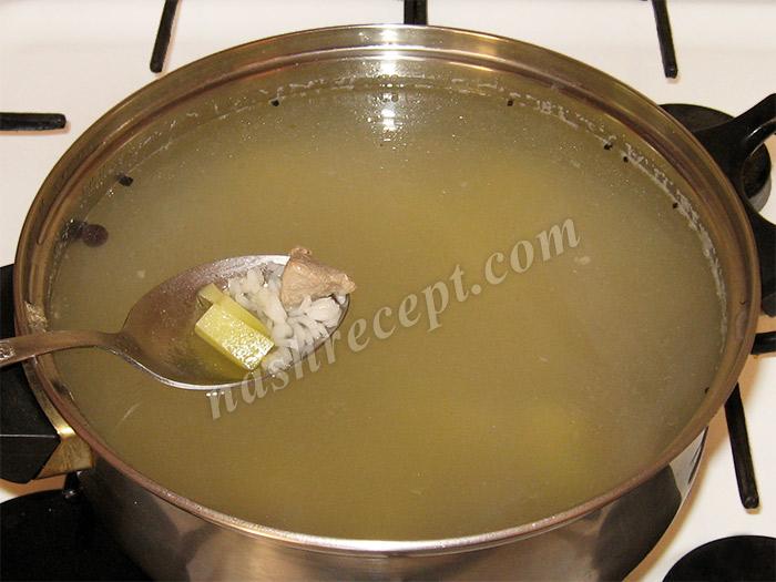 варим рисовый суп с мясом - varim risovyi sup s myasom