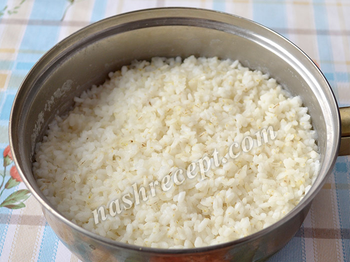 """рис для постного салата """"Оливье"""" - ris dlya postnogo salata olivye"""