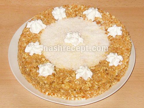 торт медовик - tort medovik