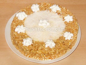 Торт медовик (медовый торт) - tort medovik