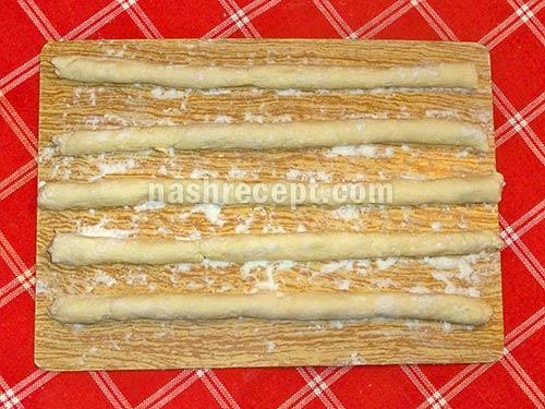 колбаски для ленивых вареников - kolbaski dlia lenivyh varenikov