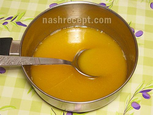 растопленный маргарин для песочного теста - rastoplennyi margarin dlia pesochnogo testa