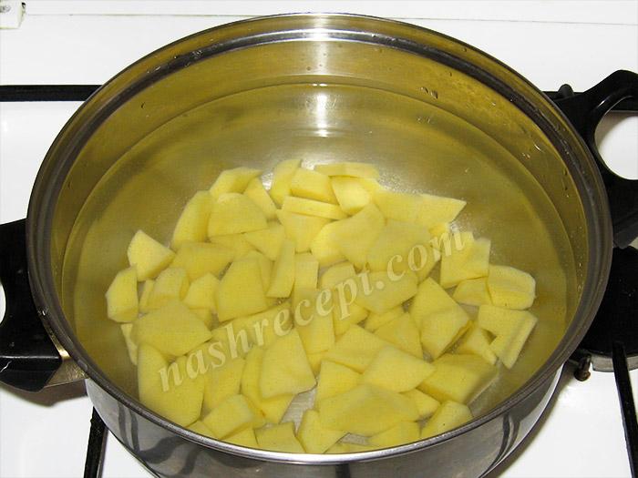 картофель для супа из брынзы - kartofel dlya supa iz brynzy