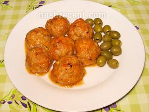 мясные тефтели в духовке - tefteli meatball