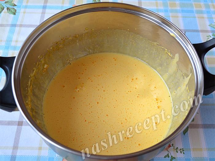 желтки с сахаром для тирамису
