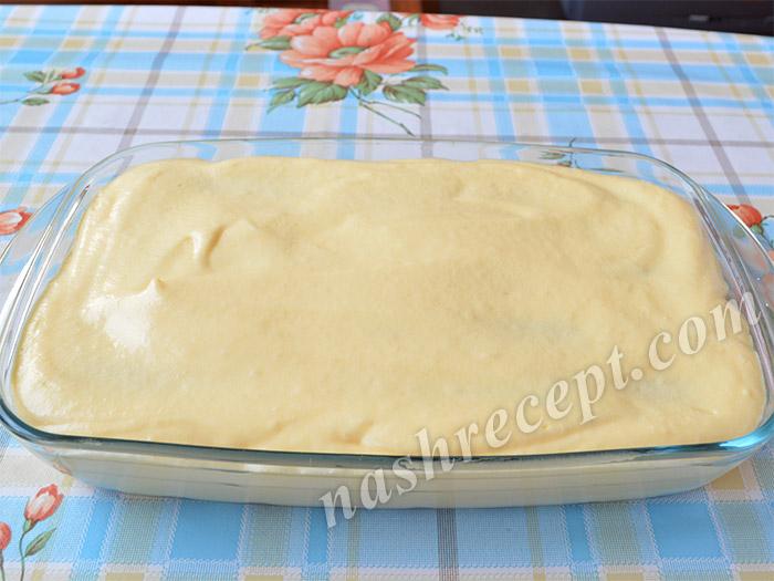 2 слой крема для тирамису