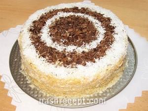 торт Наполеон слоеный - tort Napoleon sloenyi