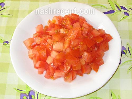 помидоры для фаршированных булочек - pomidory dlya farshirovannyh bulochek