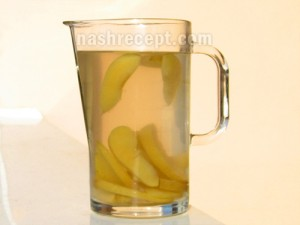 компот из яблок - kompot iz yablok