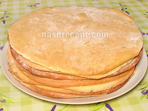 коржи для медового торта - korzhi dlia medovogo torta