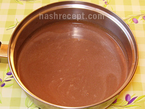 moloko s shokoladom - молоко с шоколадом