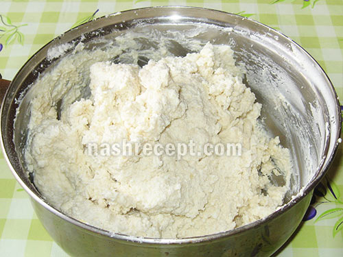 тесто для сырников - testo dlya syrnikov