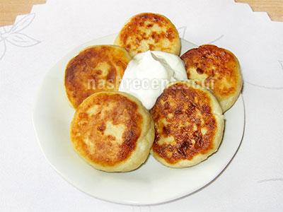 сырники рецепт пошагово с фото