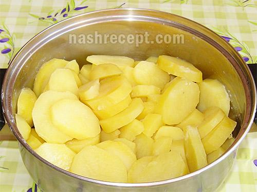 вареный картофель - varenyi kartofel